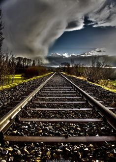 ~~Following my path | train tracks, Oberglatt, Switzerland | by Osvaldo Mirante~~