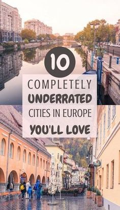 10 complete unique beautiful and often underrated cities in Europe you'll fall in love with! 10 complete unique beautiful and often underrated cities in Europe you'll fall in love with! Destination Voyage, European Destination, European Travel, Voyage Europe, Europe Travel Guide, Travel Guides, Travel Hacks, Backpacking Europe, Travel Essentials