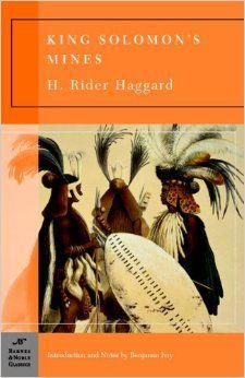 King Solomon's Mines (Barnes & Noble Classics Series): H. Rider Haggard, Benjamin Ivry: 9781593082758: Amazon.com: Books