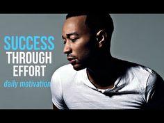 SUCCESS THROUGH EFFORT - Motivational Speech by John Legend - Randomly Selected Videos Motivational Speeches, John Legend, Daily Motivation, Effort, Success, Videos, Fictional Characters, Pep Talks, Fantasy Characters