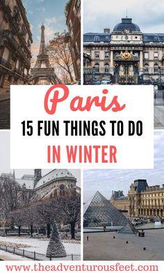 Paris Travel Guide, Europe Travel Tips, Travel Destinations, Travel Vlog, Van Travel, Travel Channel, Wanderlust Travel, Travel Guides, Paris Winter
