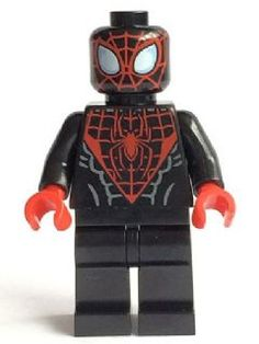 sh190: Spider-Man (Miles Morales) | Brickset: LEGO set guide and database Legos, Lego Custom Minifigures, Lego Spiderman, Micro Lego, Amazing Lego Creations, Miles Morales, Iron Spider, Lego Design, Lego Moc