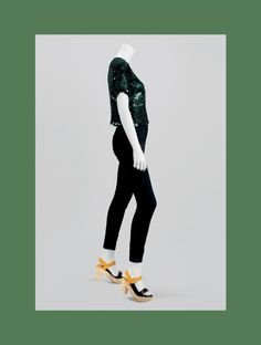 STAGE Collection by More Mannequins #FemaleMannequin #headlessmannequin #sequins