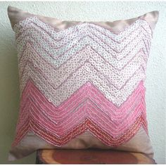 Handmade Pink Pillow Cases, Sequins Chevron Girls Room Pi... https://www.amazon.com/dp/B005C1C2XK/ref=cm_sw_r_pi_dp_x_RjPrybKW61XPF