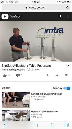 Kombi Camper, Adjustable Table, Adjustable Desk
