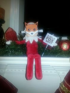 Elf on the Shelf what did the fox say #whatdidthefoxsay