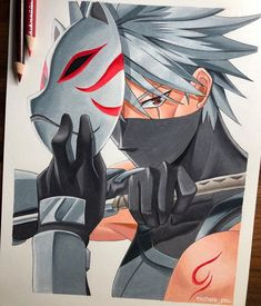 Rate this artwork . Naruto Sketch Drawing, Kakashi Drawing, Naruto Drawings, Anime Sketch, Art Drawings Sketches, Naruto Shuppuden, Kakashi Sensei, Naruto Shippuden Anime, Arte Do Kawaii