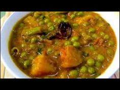 ಆಲೂಗಡ್ಡೆ ಬಟಾಣಿ ಕರಿ Ethnic Recipes, Food, Essen, Meals, Yemek, Eten
