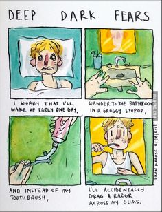 I am afraid every monday that this is going happen to me