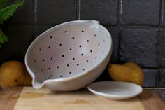 Hey, I found this really awesome Etsy listing at http://www.etsy.com/listing/169254401/large-pottery-berry-bowl-dusty-purple