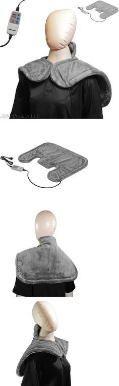 Electric Heating Pads: Electric Infrared Neck And Shoulder Heating Pad Heat Therapy Blanket Wrap Shall Rc BUY IT NOW ONLY: $138.99