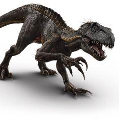 Jurassic World: Fallen Kingdom (2018) - New Raptor & Indominus Rex Super Intelligent Hybrid: The Indoraptor