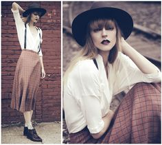 d6fa2523488 56 Best Women Wear Suspenders Too! images
