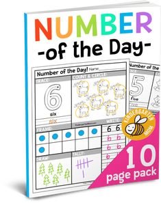 Free Number of the Day Worksheets -