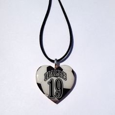 Buy Soccer Heart Mom Necklace by sherrollsdesigns. Explore more products on http://sherrollsdesigns.etsy.com