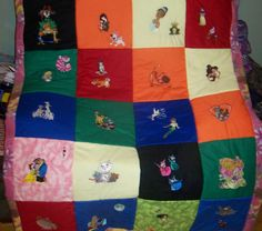 One of a Kind Homemade Disney Quilt, $250.0