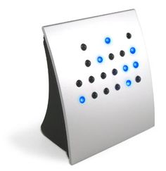 I saw this at a friends house and have wanted it since. It is a binary clock. Pretty cool, eh?