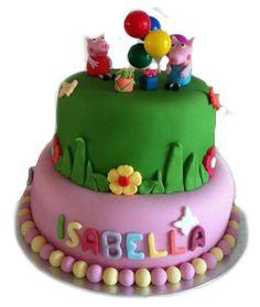 Peppa Pig Cake Blog For Kiss Me Cakes cakepins.com