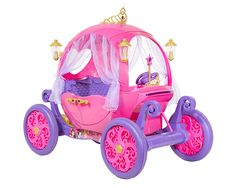 24 Volt Disney Princess Carriage Ride-On for Girls by Dynacraft Image 2 of 11 Little Girl Toys, Baby Girl Toys, Baby Dolls, Disney Princess Carriage, Disney Princess Toys, Disney Princess Dresses, Princess Outfits, Princess Costumes, Princess Style