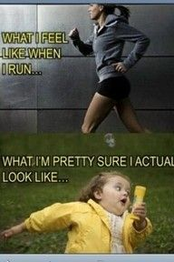 That's my excuse why I don't run!