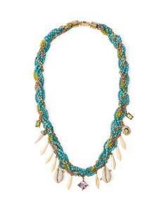 Shop this month's womenswear deliveries from MATCHESFASHION. Luxury Designer clothes, shoes, bags and accessories from designer brands including DVF, Christian Louboutin and Alexander McQueen. Amethyst Necklace, Turquoise Necklace, Beaded Necklace, Fine Jewelry, Jewelry Making, Jewellery, Carnelian, Peridot, Gold Chains