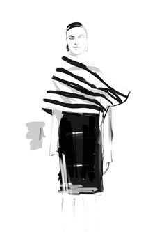 Fashion illustration // Shira Barzilay