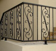 iron railings and banisters residential | Commercial ...