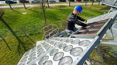 Une technologie qui permet de capter la lumière naturelle du soleil pour la…