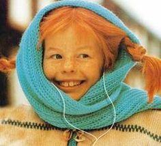 Astrid Lindgren is Pippi Longstocking. Pippi Longstocking, Sweden, Little Ones, Little Girls, Tumblr, Baby Kind, Freckles, Pepsi, Childhood Memories