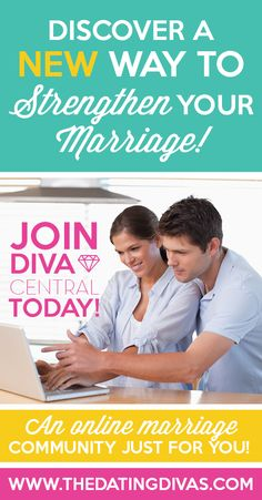 Get more for your marriage as a member of Diva Central! Diva Central delivers powerful, relevant advice, dates, printables, inspiration, and so much more! Each and every month, you'll get brand-new ideas, completely tailored to your relationship! CLICK HERE to see why so many couples LOVE Diva Central!