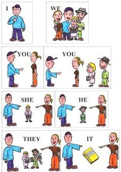 Pronouns (C2, Wk 2) Really helpful for teaching another language, too!: