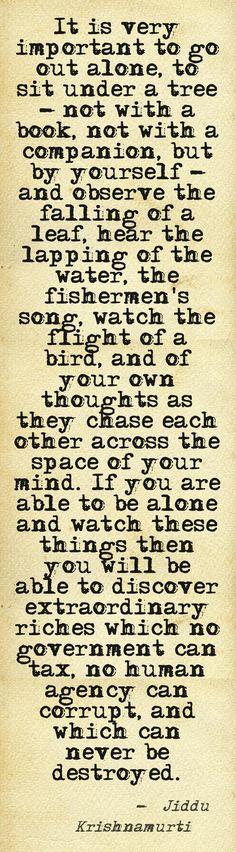 in de stilte, vrij van alles, ontdek jij wie je werkelijk wilt zijn en bent...... #helderdromen #krishnamurti #meditatie