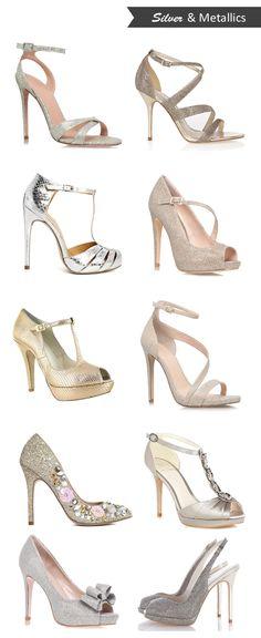 16 Fabulous Super High Wedding Shoes | weddingsonline
