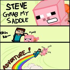if you play minecraft you'll find this hilarious