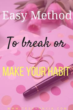 We all have habits,