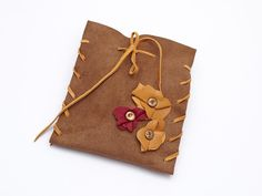 Skórzana torebka X w AB art na DaWanda.com