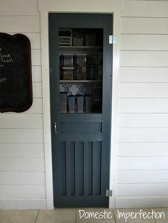 DIY Pantry Screen Door