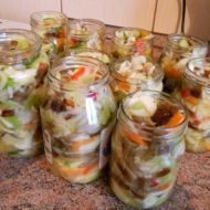 Čalamáda ze zelí Czech Recipes, Ethnic Recipes, Y Recipe, European Dishes, Canning Food Preservation, Good Food, Yummy Food, Homemade Pickles, Tomato Vegetable