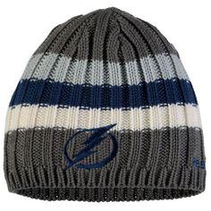 6025849a373e Edmonton Oilers adidas Travel & Training Cuffed Knit Hat - Gray ...