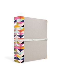 Russel+Hazel three-ring: made from 100-percent recycled materials, and the inside cover doubles as a dry-erase board.