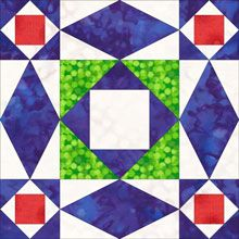 Lots of good information about making Storm at Sea blocks. This is one of my favorites blocks. Turn it on point and you've got a completely different quilt!