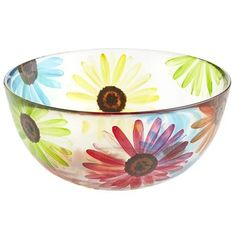 Colorful Daisy Bowl #pier 1