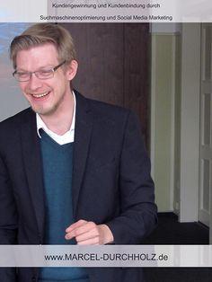 """Seminar """"Kundengewinnung und Kundenbindung durch Suchmaschinenoptimierung und Social Media Marketing"""" in Harpstedt/Bremen von Marcel Durchholz. Weitere Informationen auf http://www.marcel-durchholz.de"""