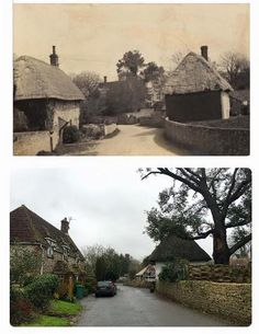 Vine cottages then and now