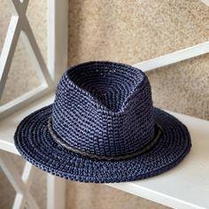 """Fedora staw color Navi"" Wide Brim Fedora, Straw Fedora, Fedora Hat, Raffia Hat, Yarn Colors, Hat Sizes, New Product, Taupe, Unisex"
