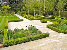 Modern Classic Gardens From The J & S Scapes Portfolio - Landscape Gardeners & Garden Designers