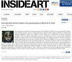 #InsideArt sceglie l'opera di #SabrinaBertolelli per il suo articolo su #BerlinoinArte2014