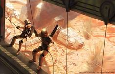 jumping troopers