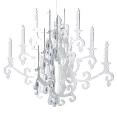 White Chandelier by Twelve Timbers.Opens in a new window