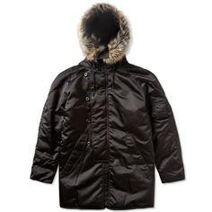 Yeezy Season 1 Long Fur Coat (Black)